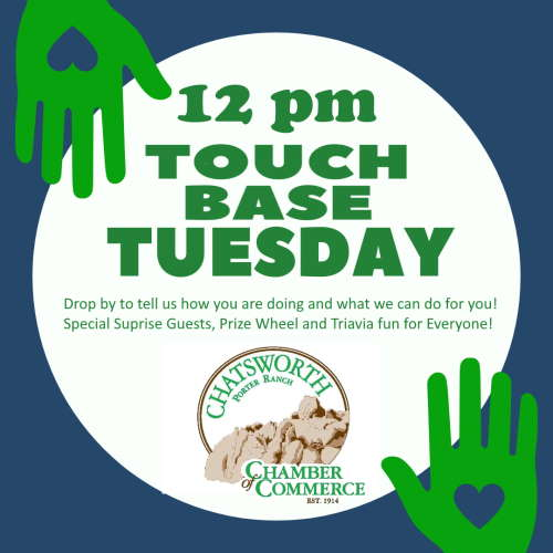 Touch Base Tuesday Logo
